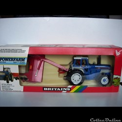 Britains - 09383 - 1/32 - Ford TW 35 + Vicon