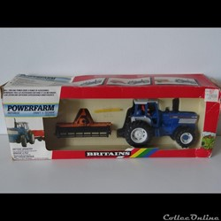 Britains - 09384 - 1/32 - Ford TW 35 + Maschio