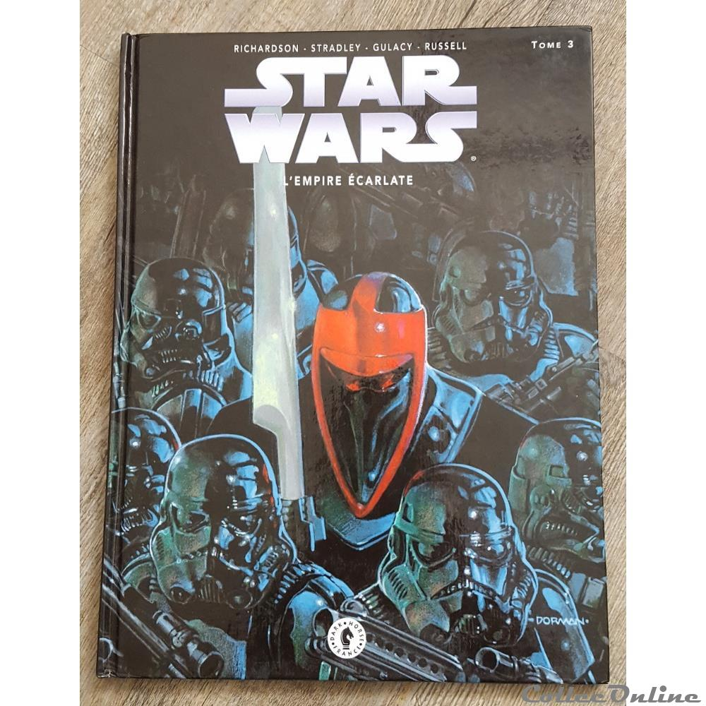 1997 Star Wars L Empire Ecarlate Tome 3 Books Comics
