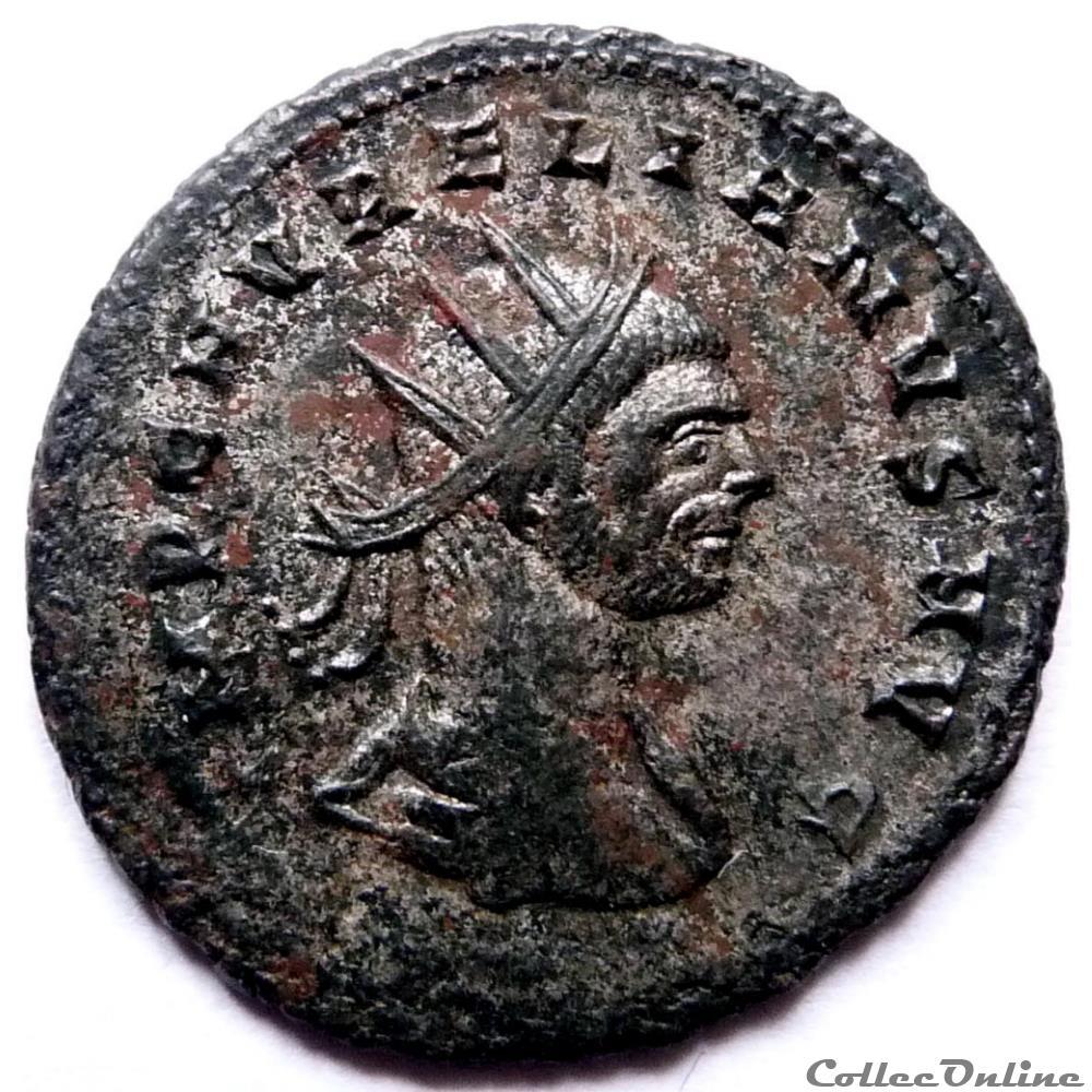 monnaie antique jc ap romaine aurelien 274 cyzique oriens avg