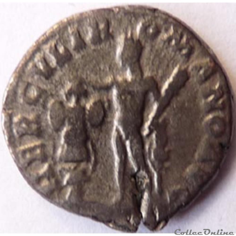 monnaie antique romaine commode 191 192 denier rome ric iii 254a