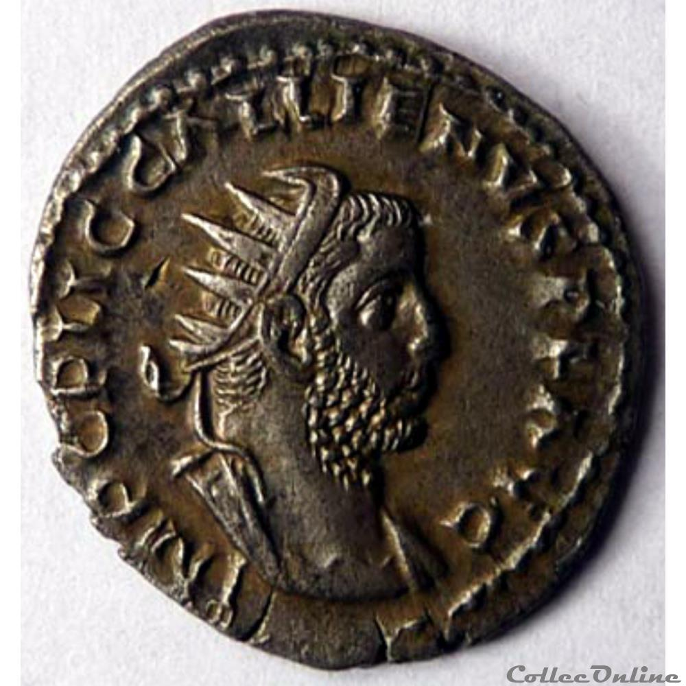 monnaie antique av jc ap romaine gallien 256 rome p m tr p iiii cos ii p p