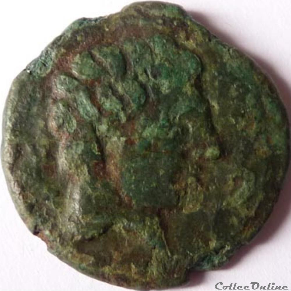monnaie antique gauloise as sekaisa 2eme 3eme siecle
