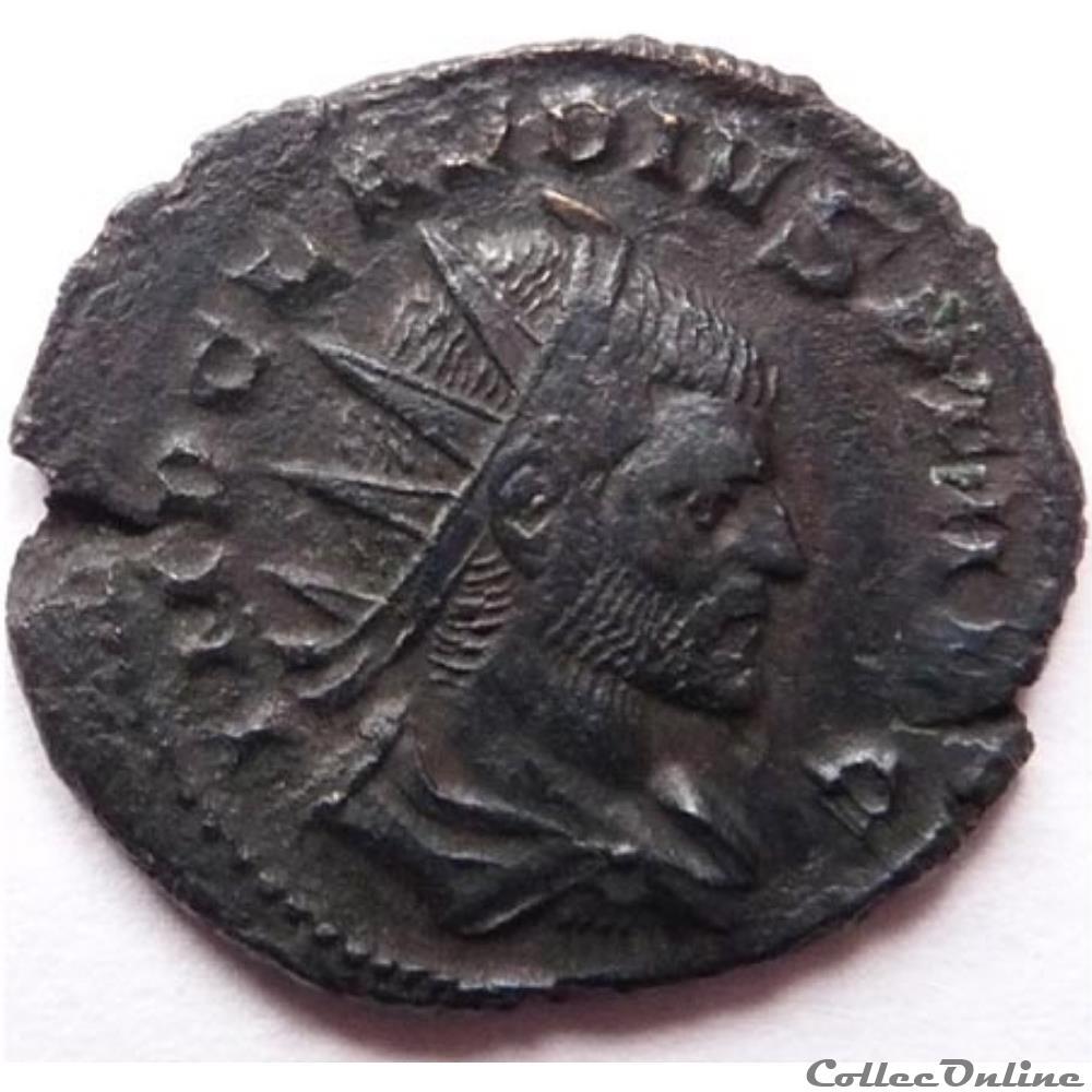 monnaie antique av jc ap romaine claude ii 269 270 milan fides milit
