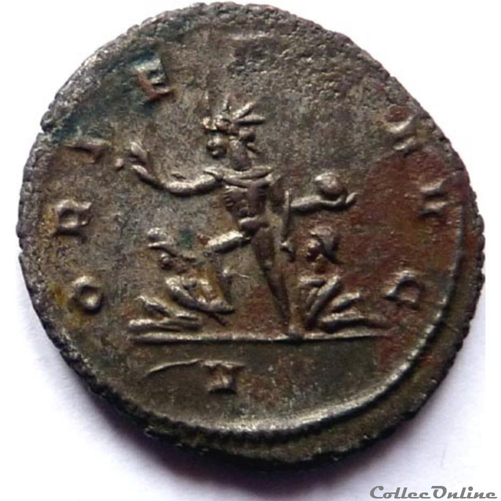 monnaie antique jc ap romaine aurelien 274 rome oriens avg