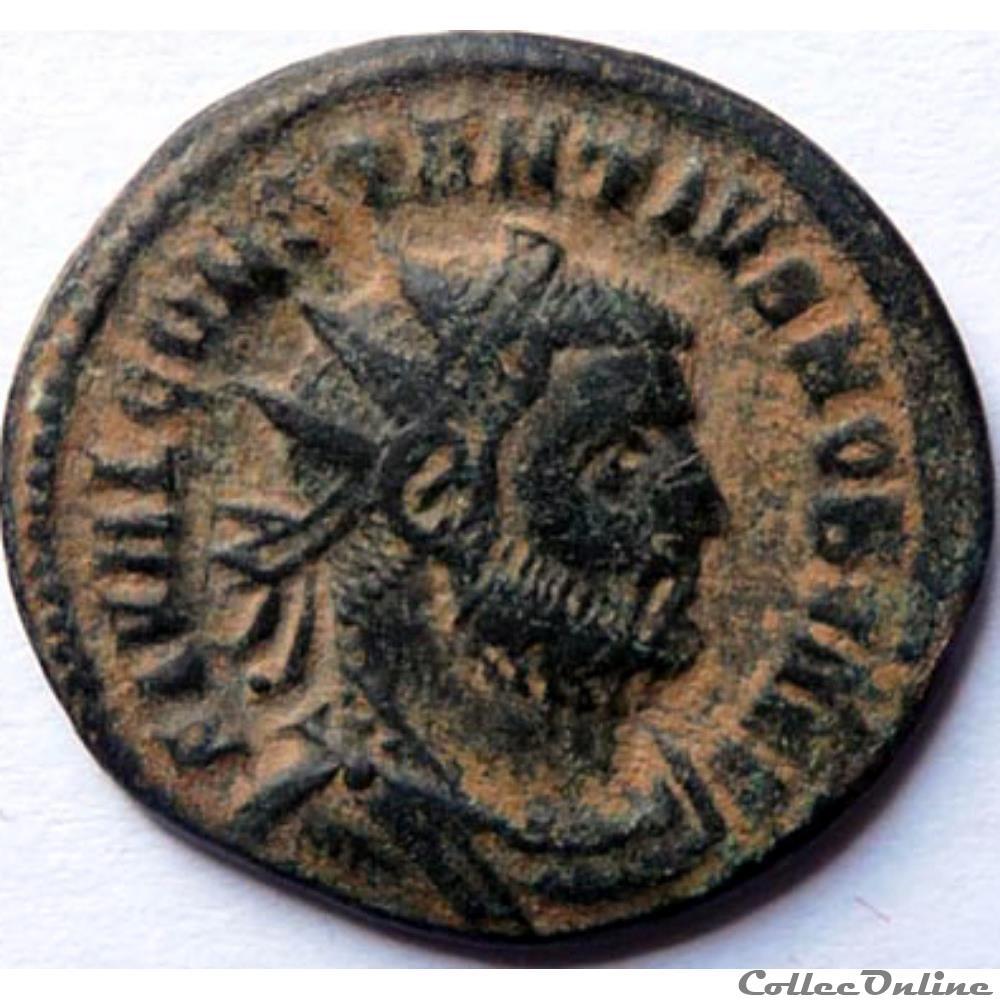 monnaie antique av jc ap romaine constance chlore 295 299 cyzique concordia militvm