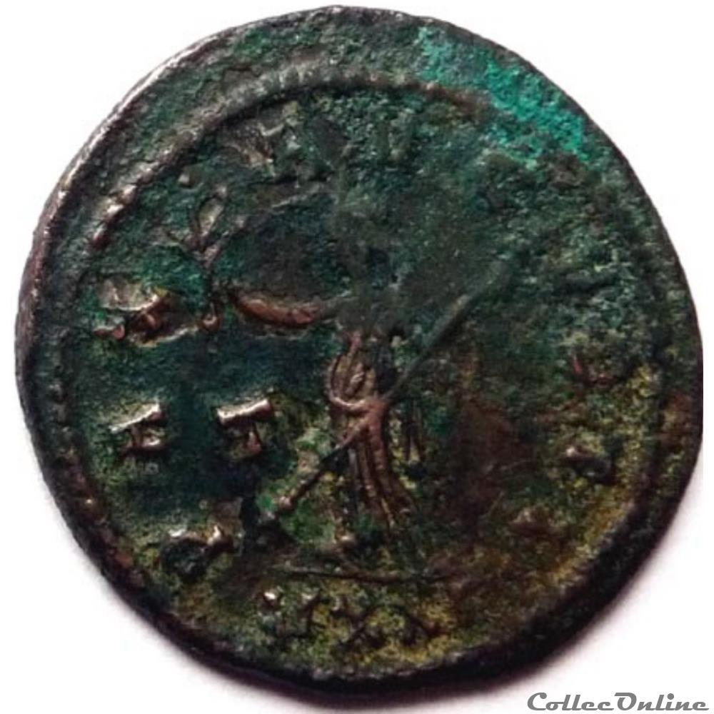 monnaie antique jc ap romaine probus 281 ticinum pax avgvsti