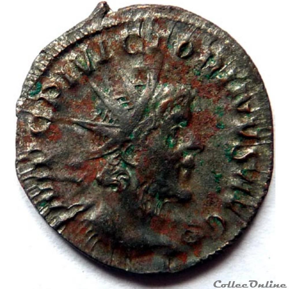 monnaie antique jc ap romaine victorin 269 cologne aeqvitas avg