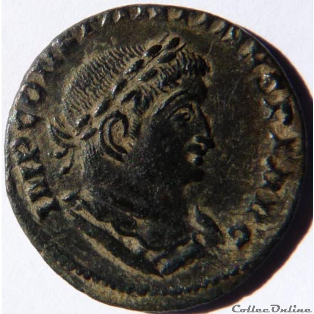 monnaie antique romaine constantin 1er 309 310 lyon ric 307