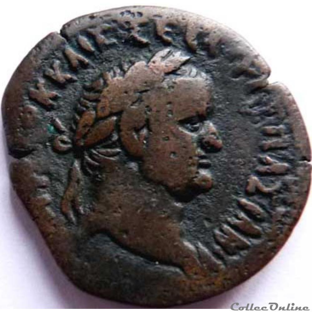 monnaie antique av jc ap romaine republicaine imperiale vespasien 69 79 alexandrie