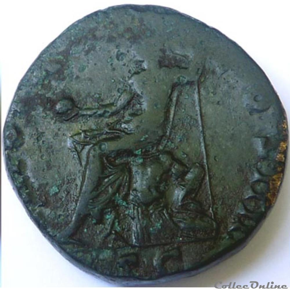 monnaie antique romaine antonin le pieux 155 156 sesterce rome ric iii 941