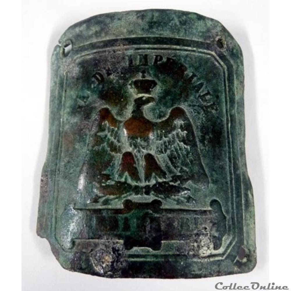 bon service complet dans les spécifications remise pour vente Boucle de ceinture de la Garde impériale : Art & Antiquités