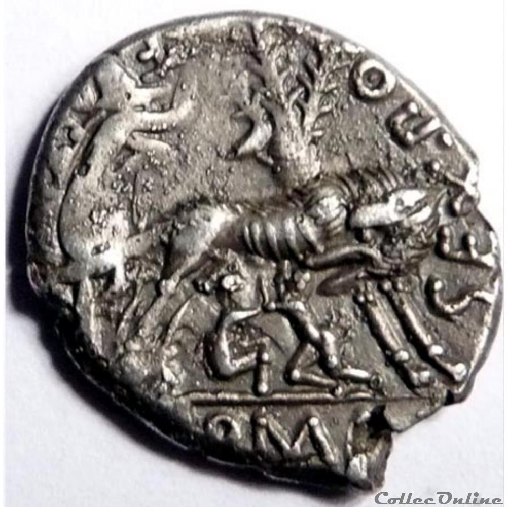 monnaie antique romaine gens pompeia 137 denier rome