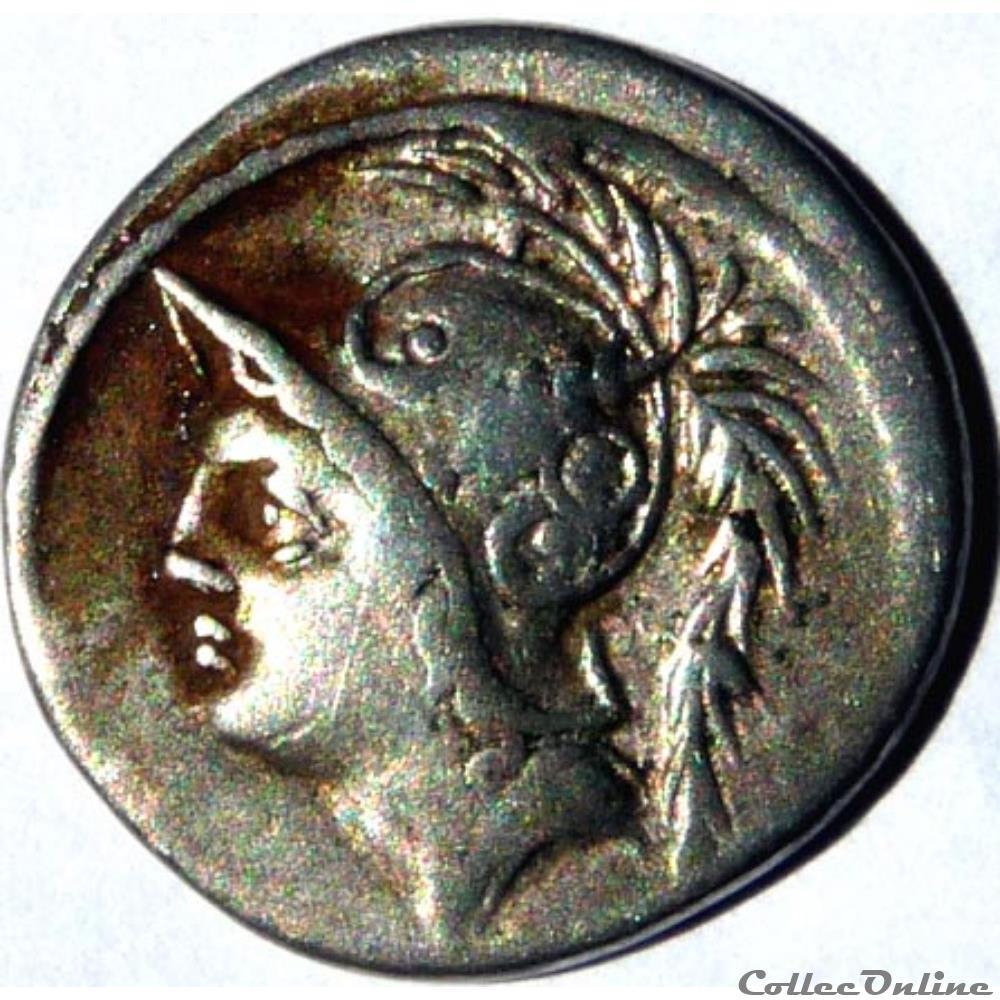 monnaie antique av jc ap romaine gens minucia 103 denier mars