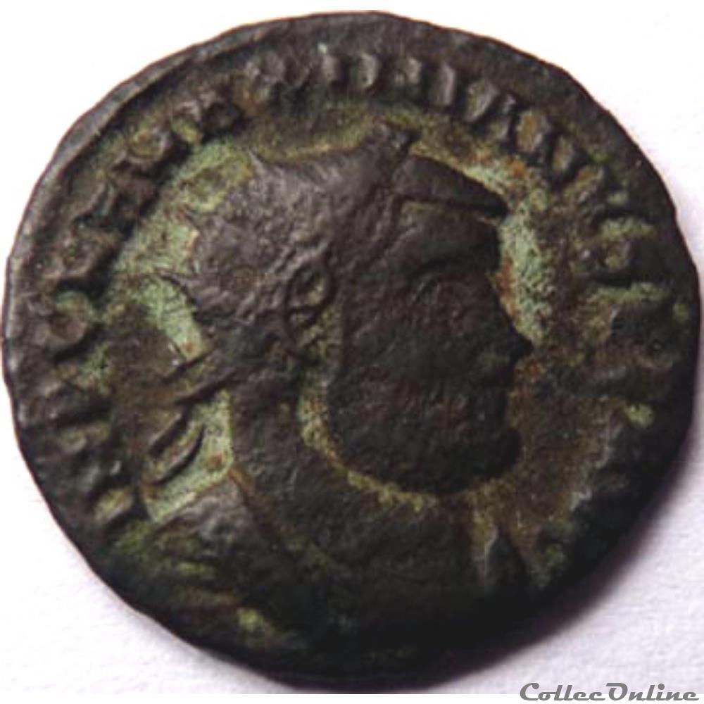 monnaie antique av jc ap romaine maximien hercule 295 299 cyzique concordia militvm