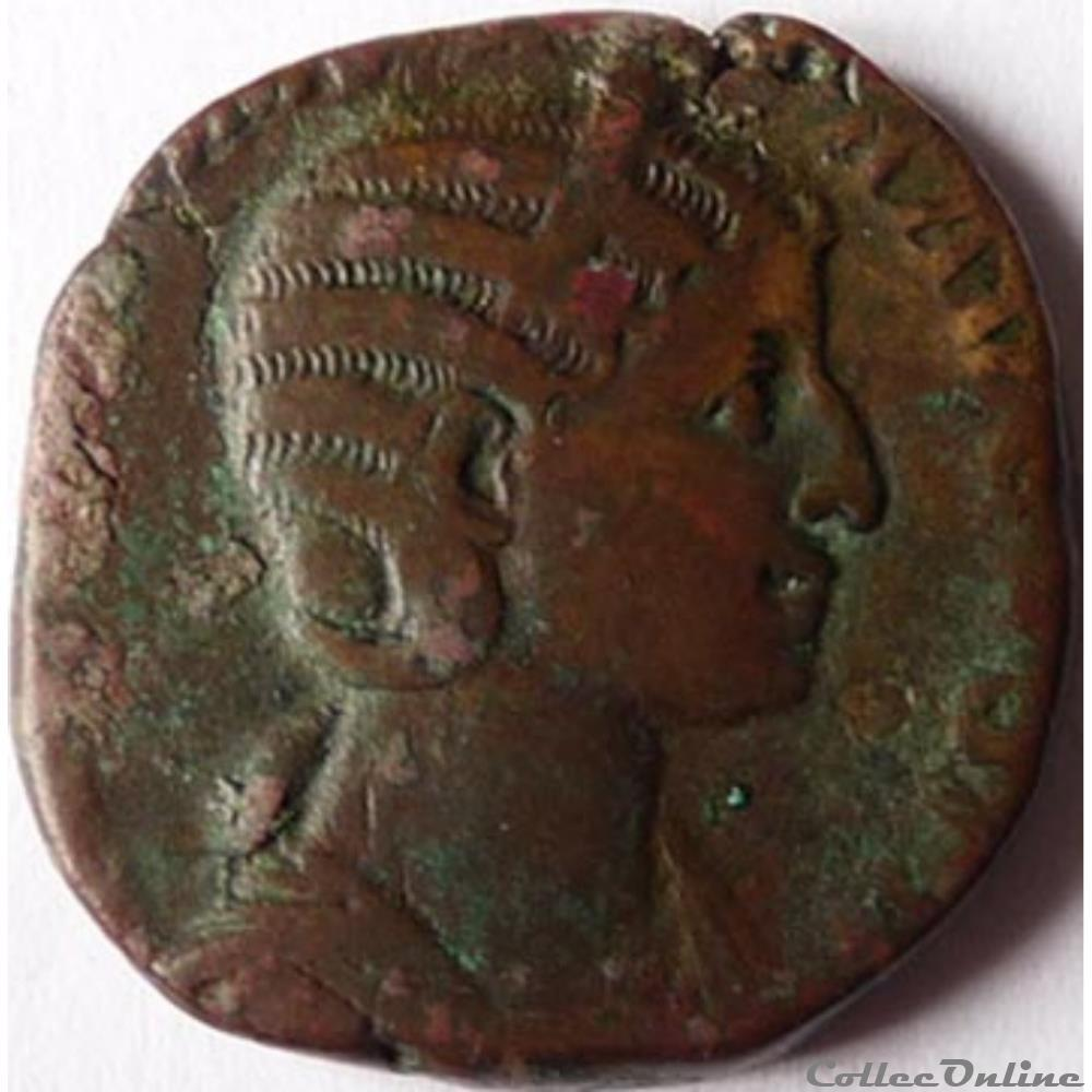 monnaie antique romaine julia mamaea 230 sesterce rome ric iv 679