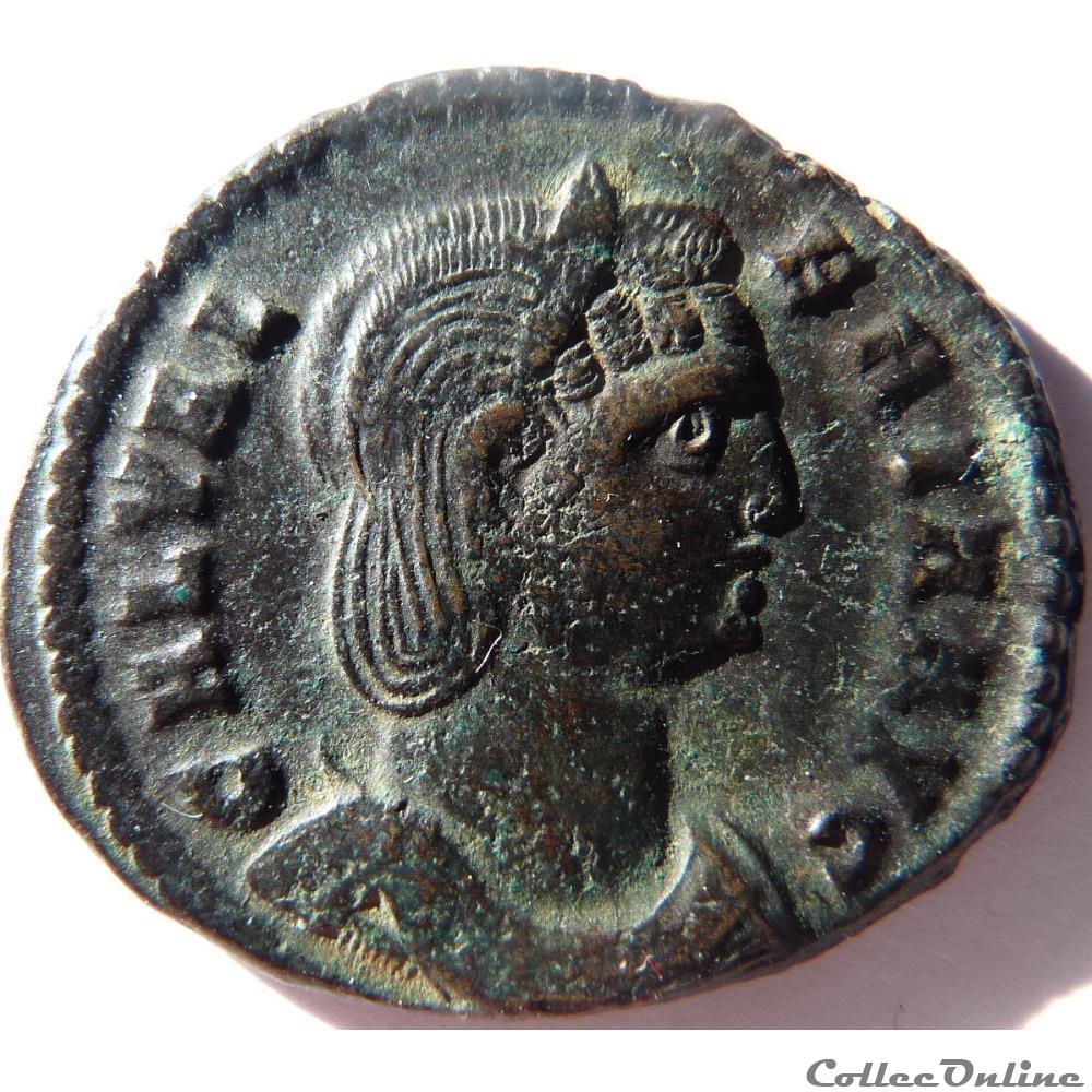 monnaie antique av jc ap romaine galeria valeria 311 heraclee veneri victrici