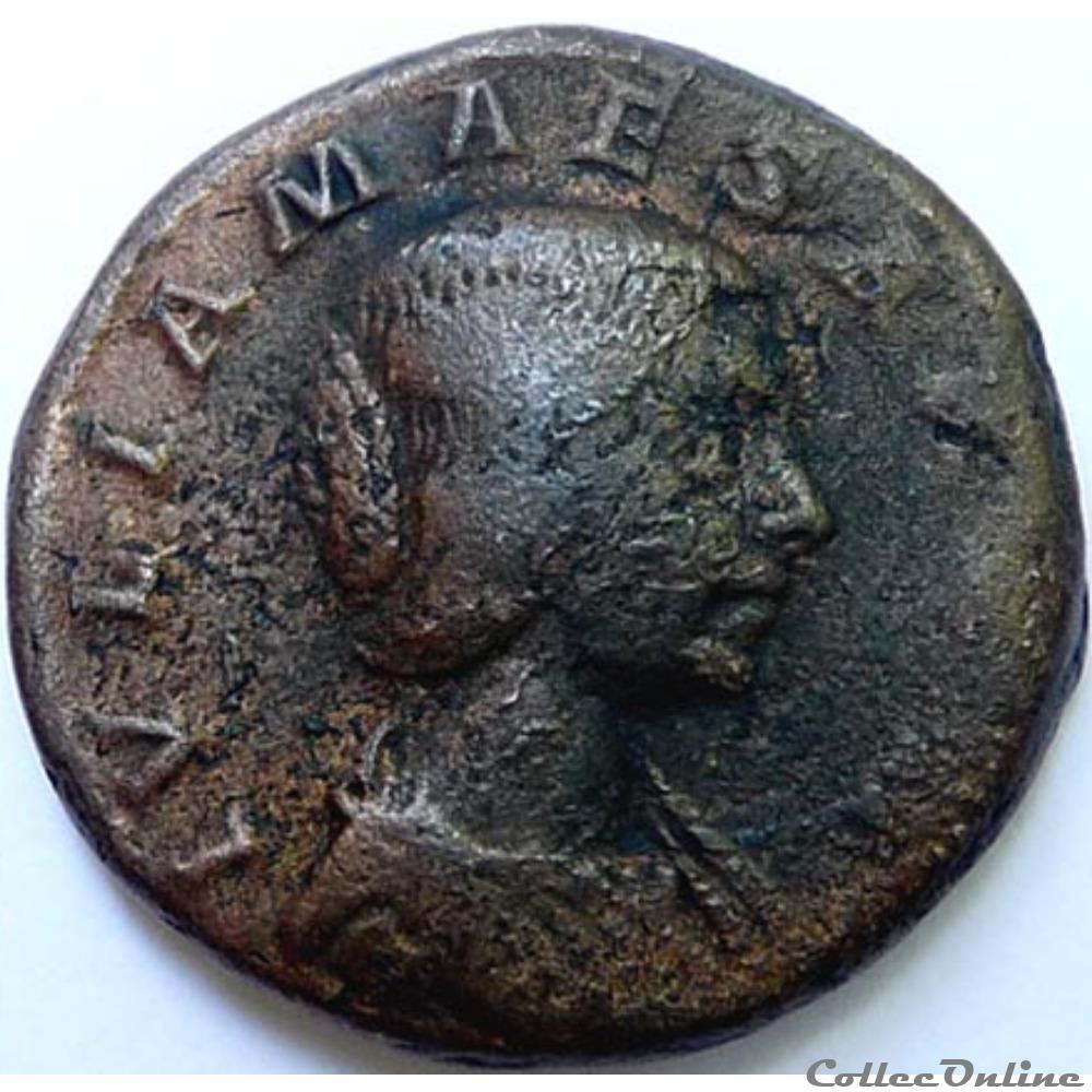 monnaie antique av jc ap romaine julia maesa 218 222 as rome ric 423