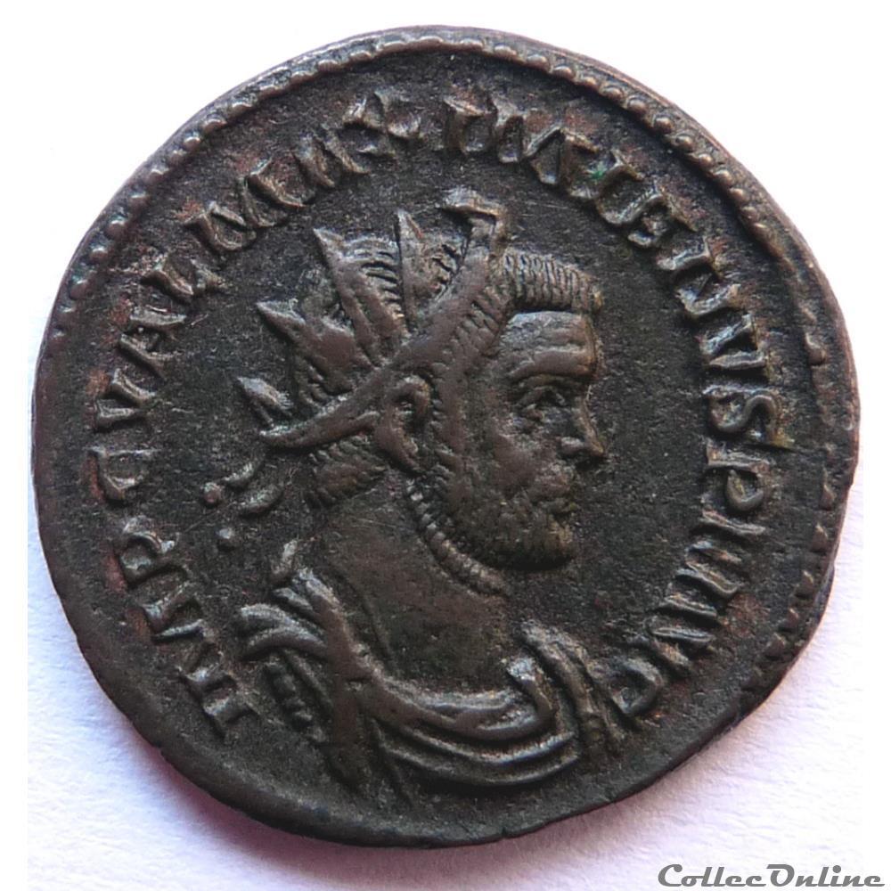monnaie antique jc ap romaine maximien hercule 286 lyon virtvs avgg