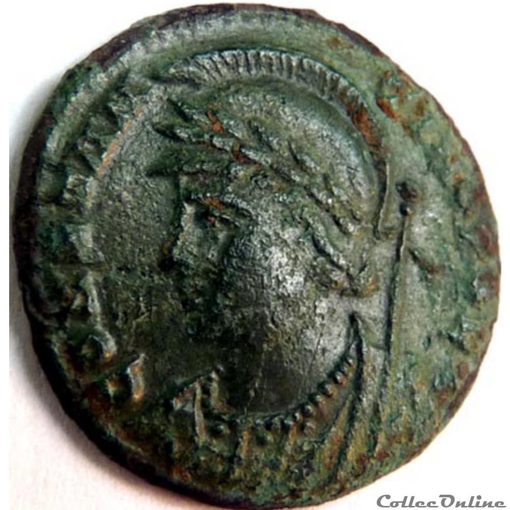 monnaie antique av jc ap romaine constantinople 330 333 constantinople