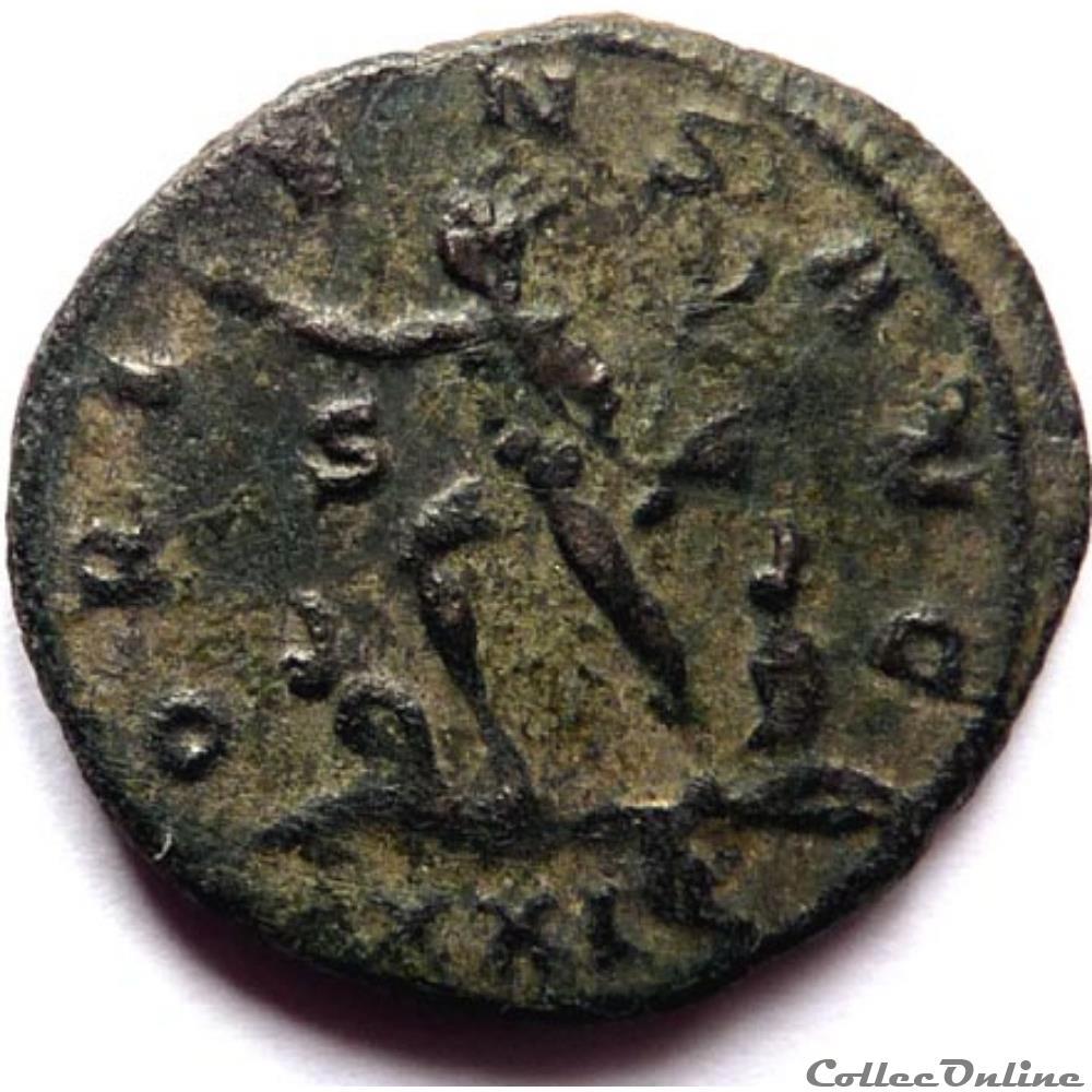 monnaie antique jc ap romaine aurelien 274 siscia oriens avg
