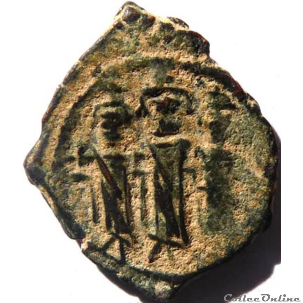 monnaie antique byzantine heraclius 610 641 nicomedie