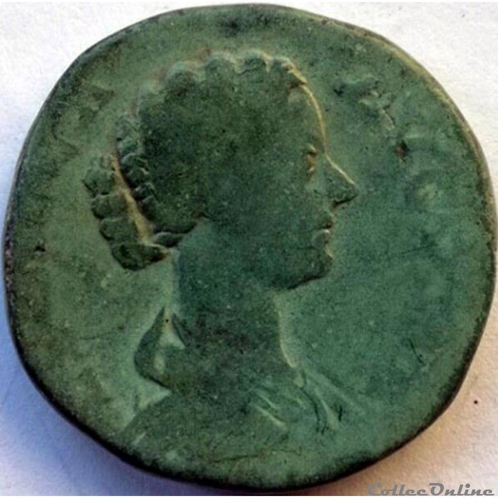 monnaie antique romaine lucille 166 169 sesterce rome ric iii 1752