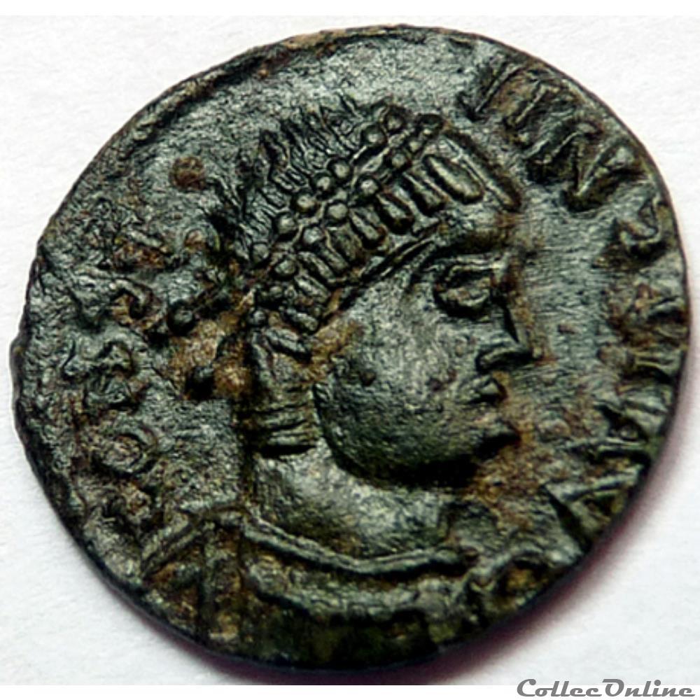 monnaie antique romaine imitation pour constans