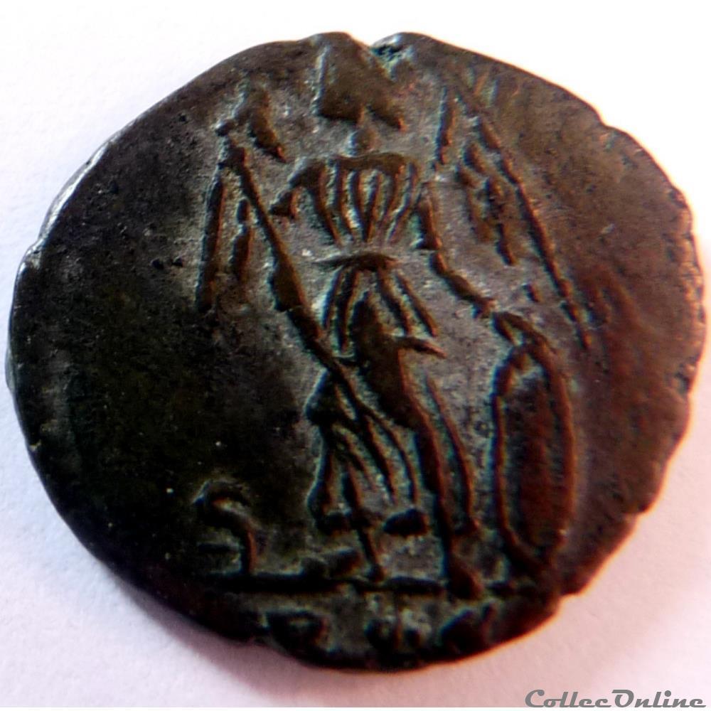 monnaie antique av jc ap romaine constantinople 337 340 rome