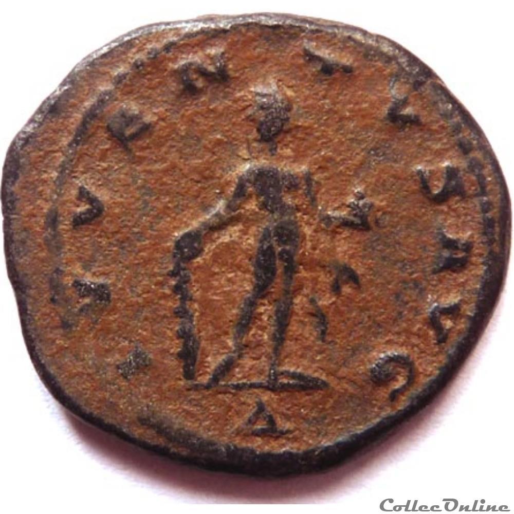 monnaie antique jc ap romaine claude ii 268 269 antioche ivventvs avg