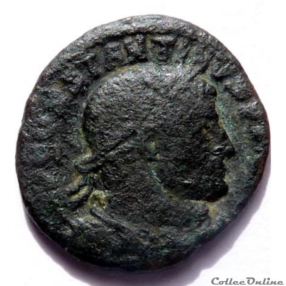 monnaie antique av jc ap romaine constantin 1er 316 arles soli invicto comiti
