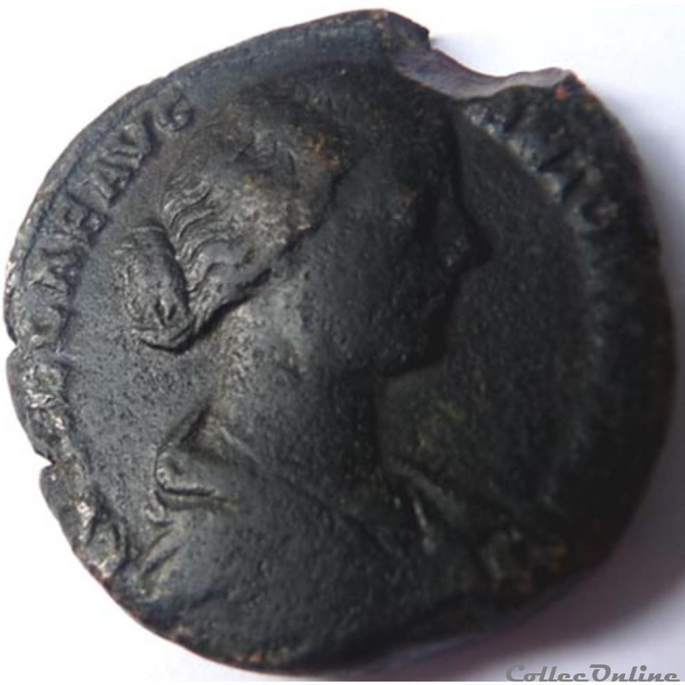 monnaie antique romaine lucille 164 169 sesterce rome ric iii 1747