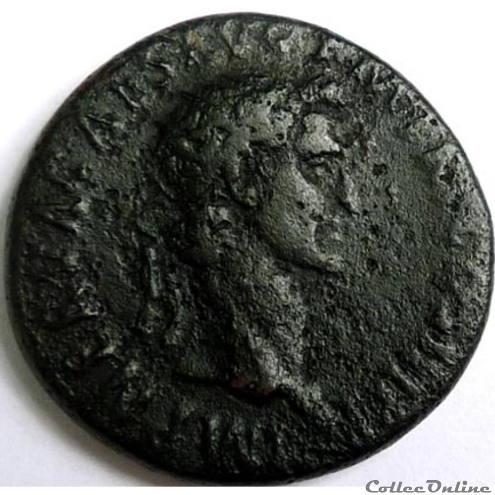monnaie antique romaine nerva 97 dupondius rome ric ii 101