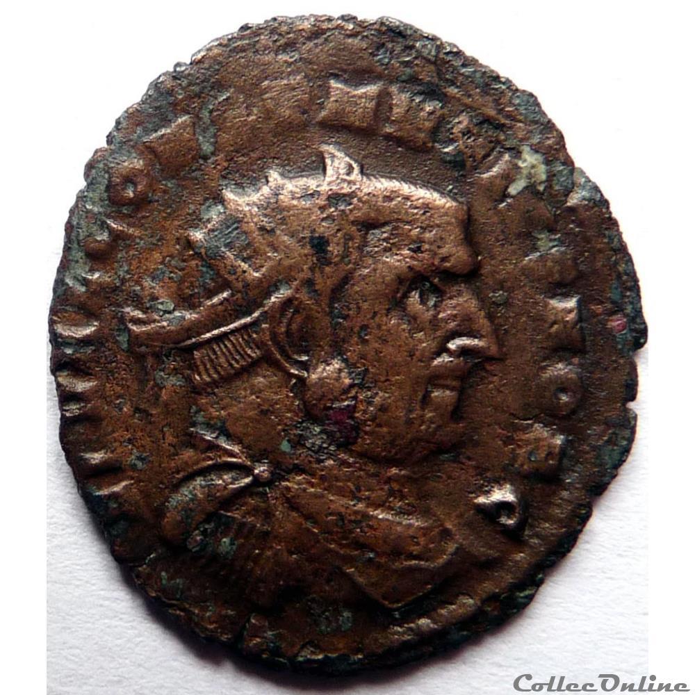 monnaie antique av jc ap romaine constance chlore 303 cathage vot x