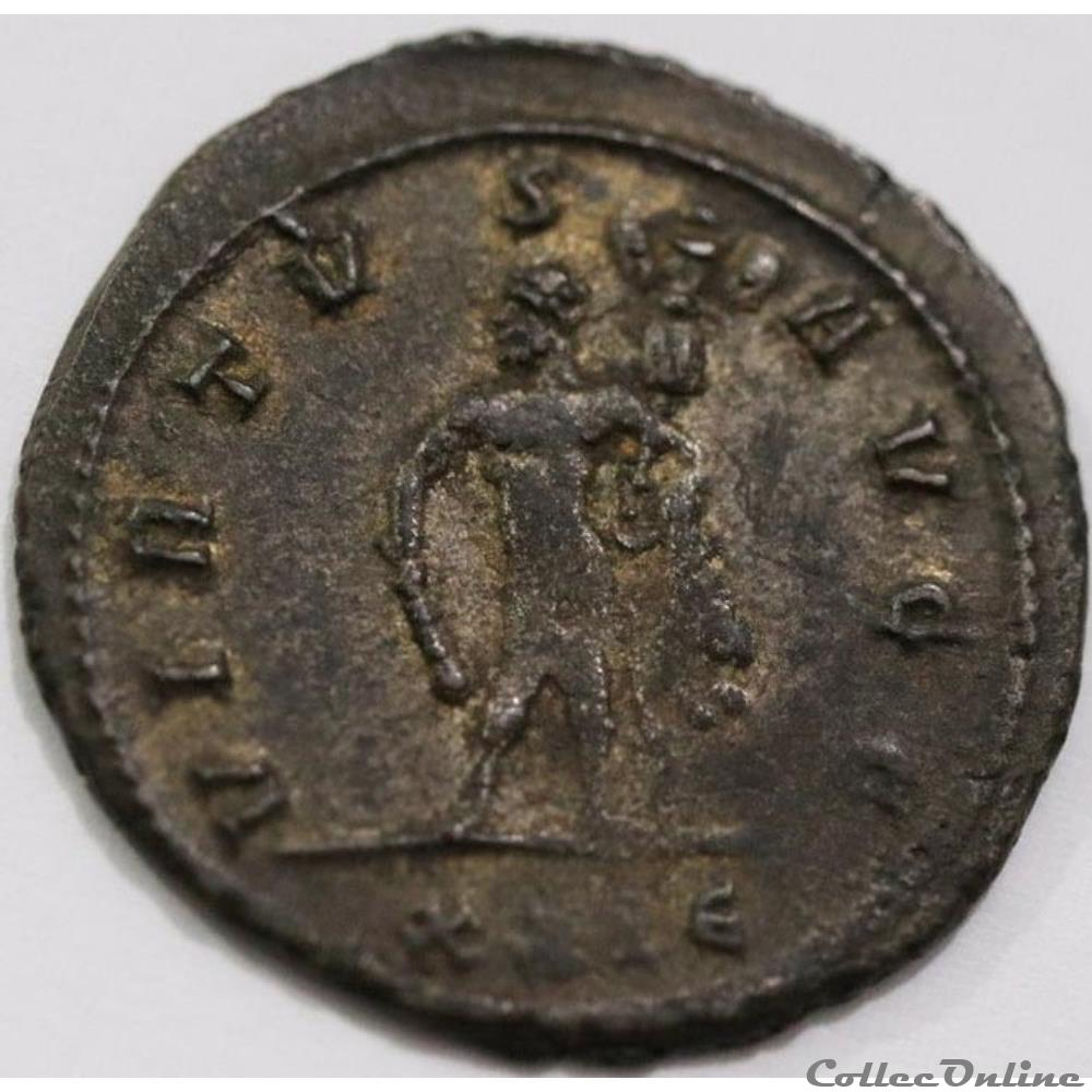 monnaie antique jc ap romaine maximien hercule 291 lyon virtvs avgg