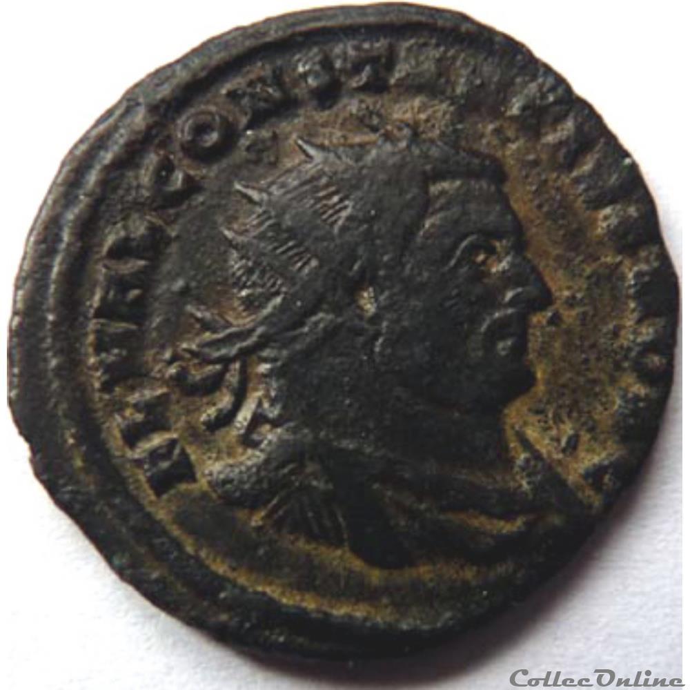 monnaie antique av jc ap romaine constance chlore 303 carthage vot x