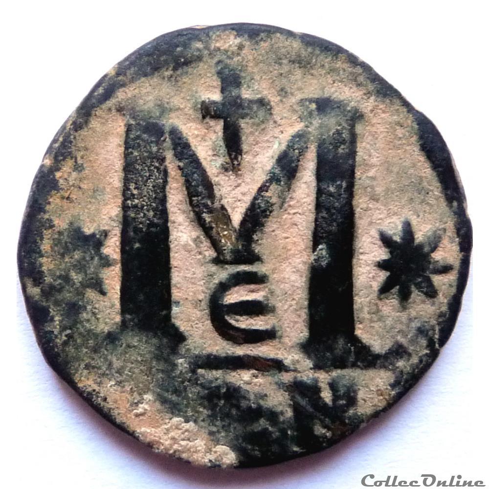 monnaie antique av jc ap byzantine justin 1er 518 527 constantinople