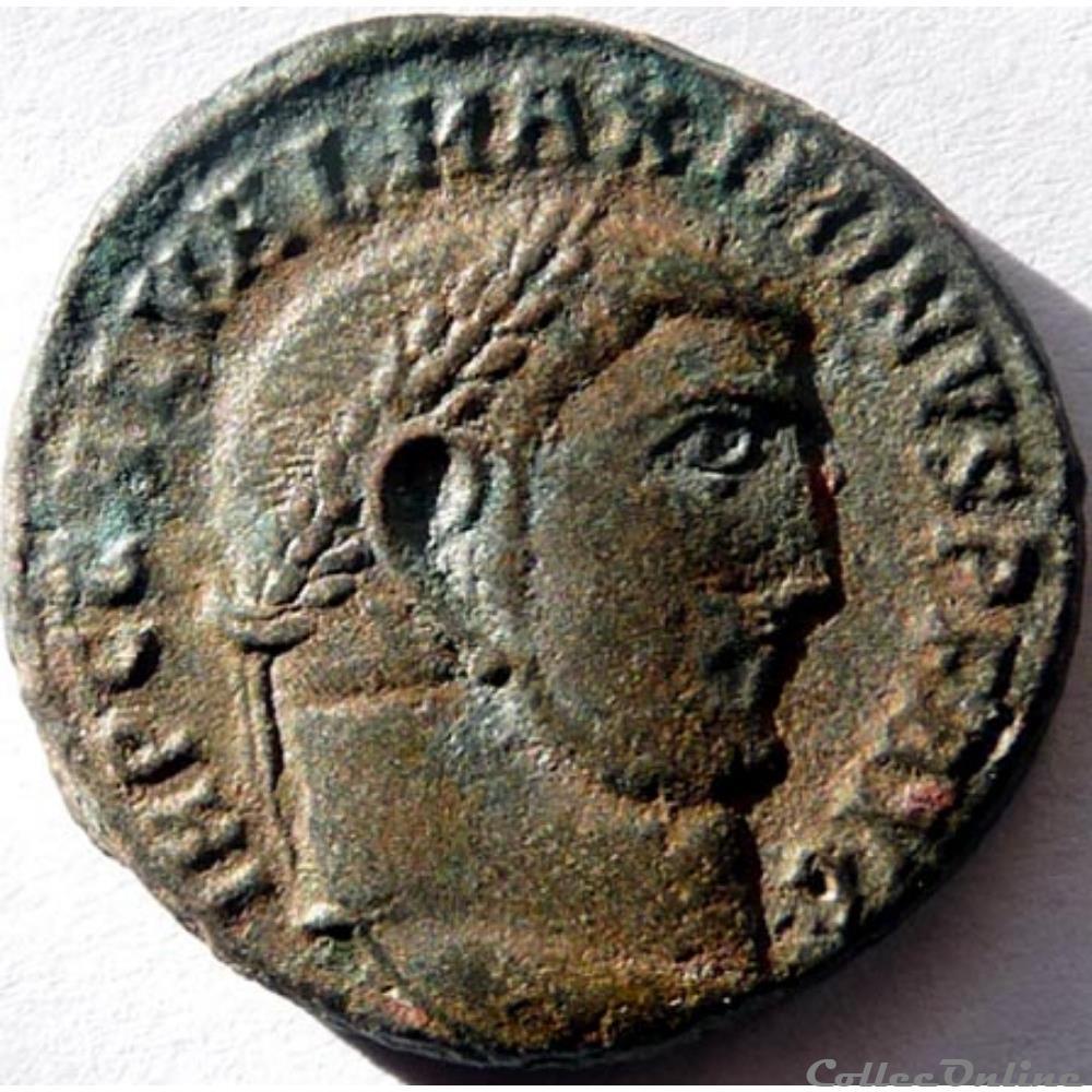 monnaie antique jc ap romaine maximin daia 312 antioche genio avgvsti