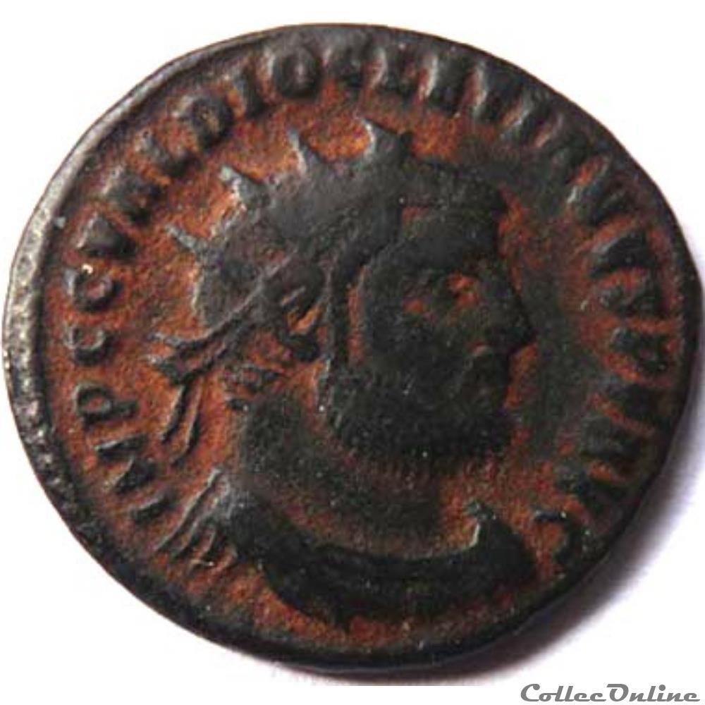 monnaie antique romaine diocletien 295 299 cyzique ric vi 16a
