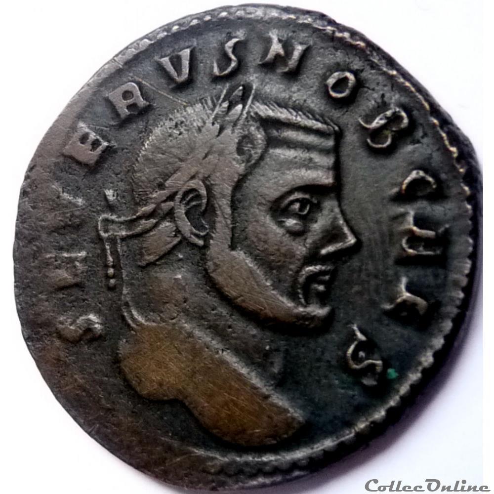 monnaie antique jc ap romaine severe ii 306 rome sac mon vrb avgg et caess nn