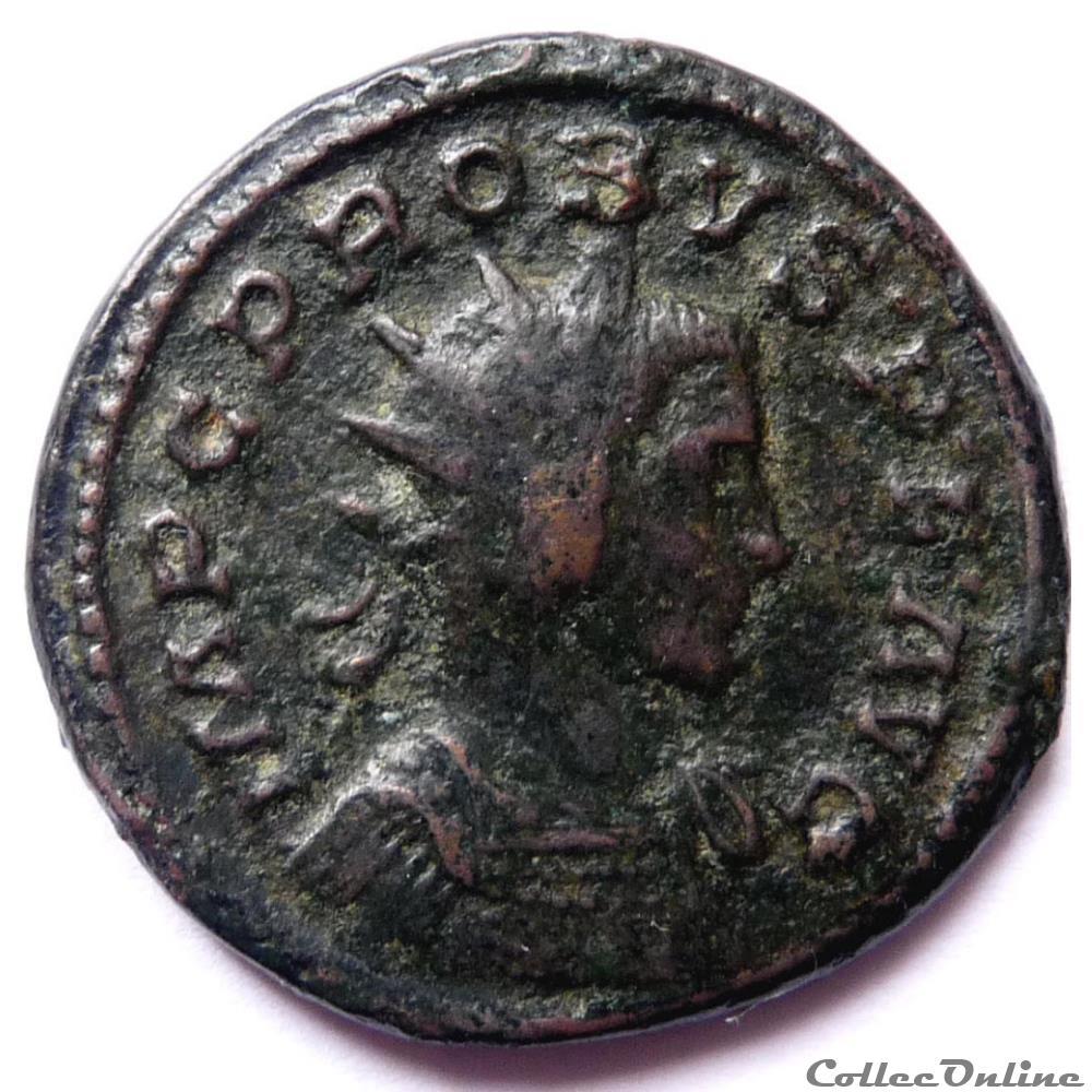 monnaie antique jc ap romaine probus 282 lyon comes avg
