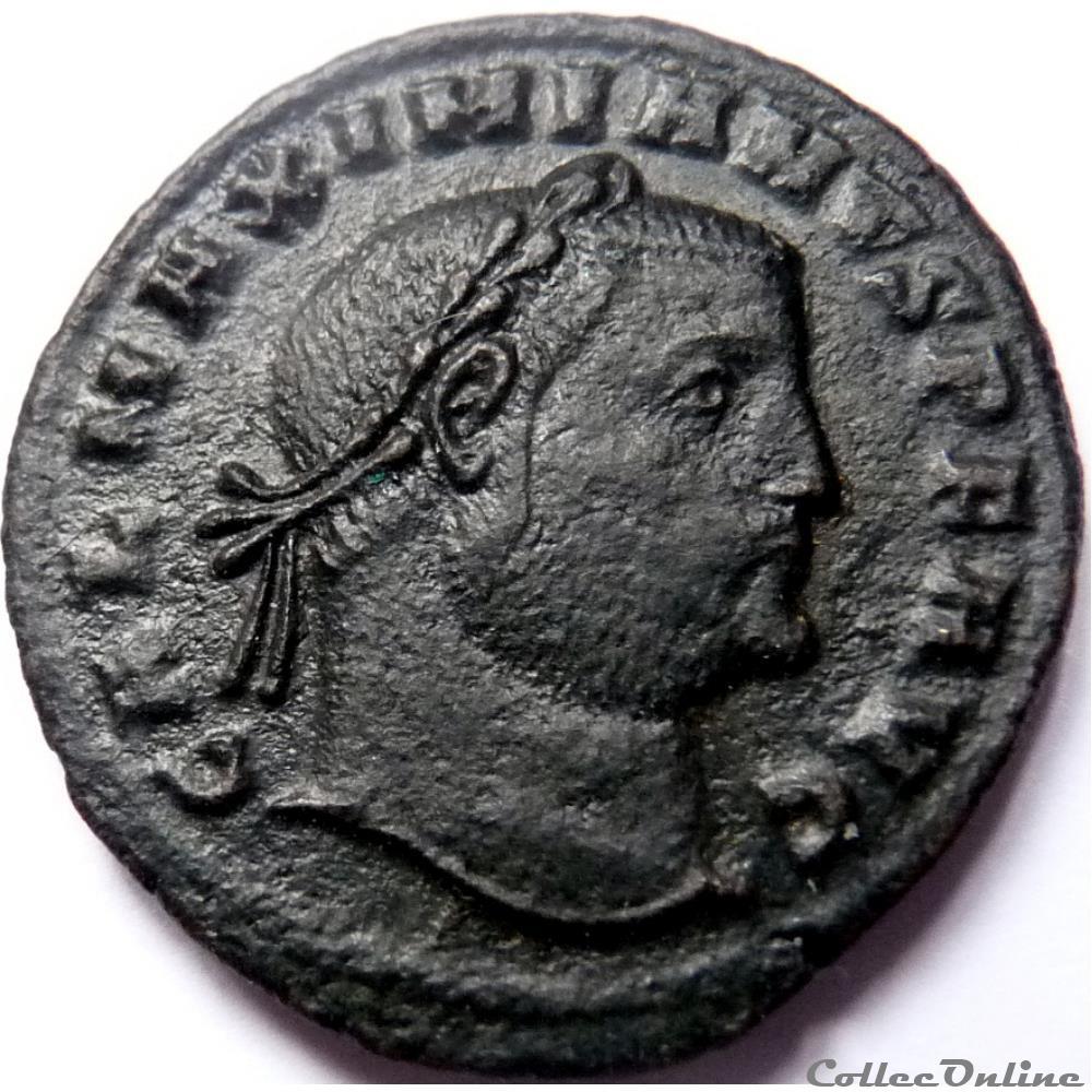 monnaie antique jc ap romaine galere 309 310 cyzique genio avgvsti