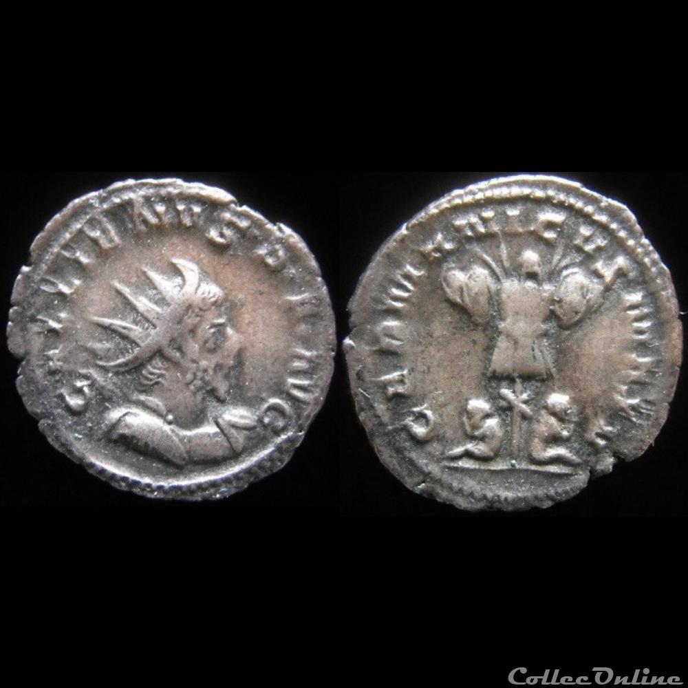 monnaie antique romaine gallien germanicvs max v variante