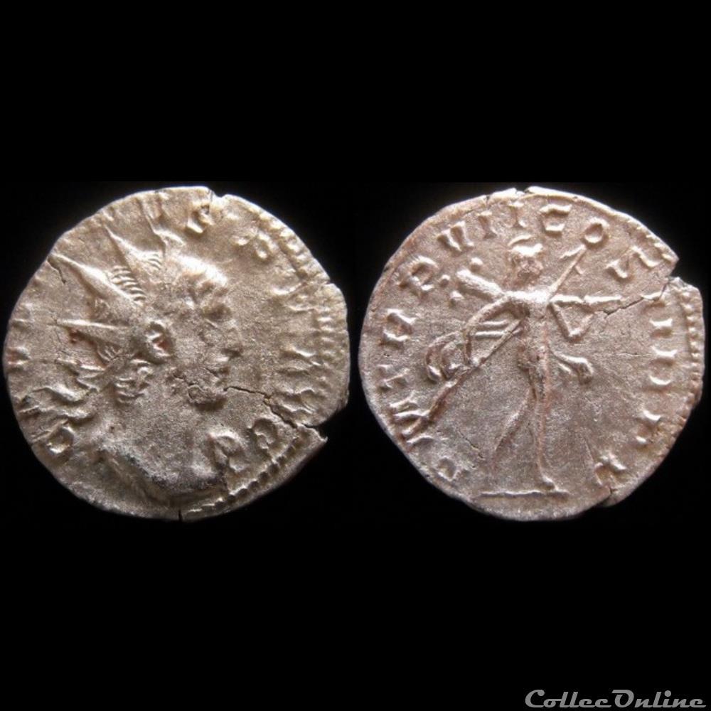 monnaie antique romaine gallien p m tr p vii cos iiii p p