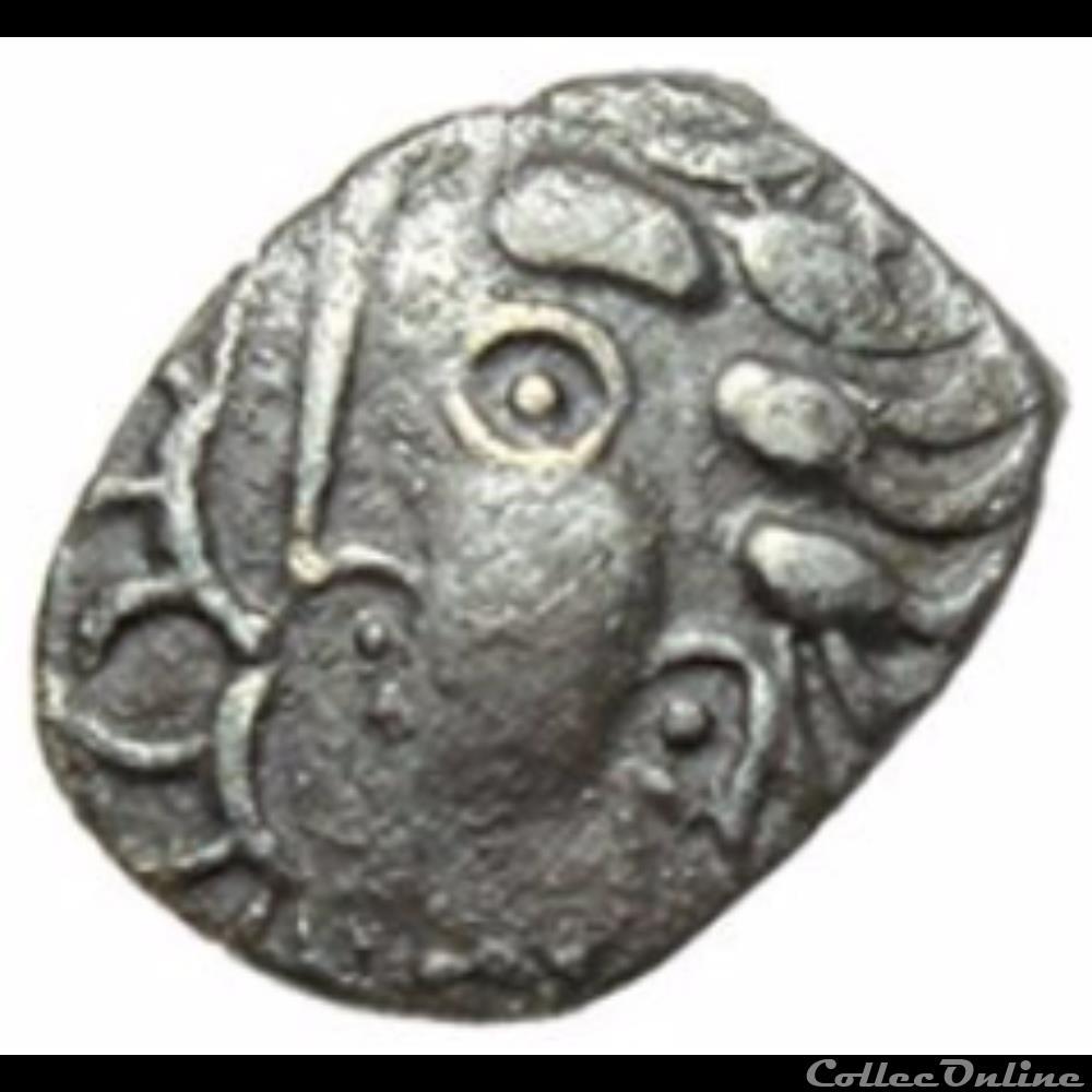 monnaie antique gauloise cl serie 9 4 obole de grabels