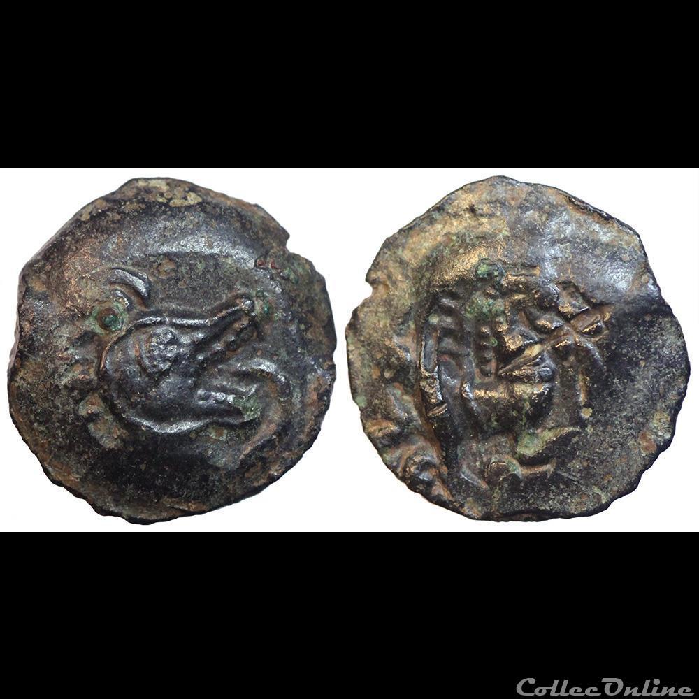 monnaie antique av jc ap gauloise bituriges incertaine