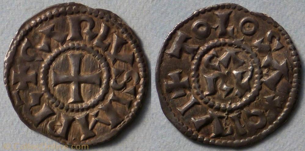 monnaie france carolingienne charles le gros denier toulouse