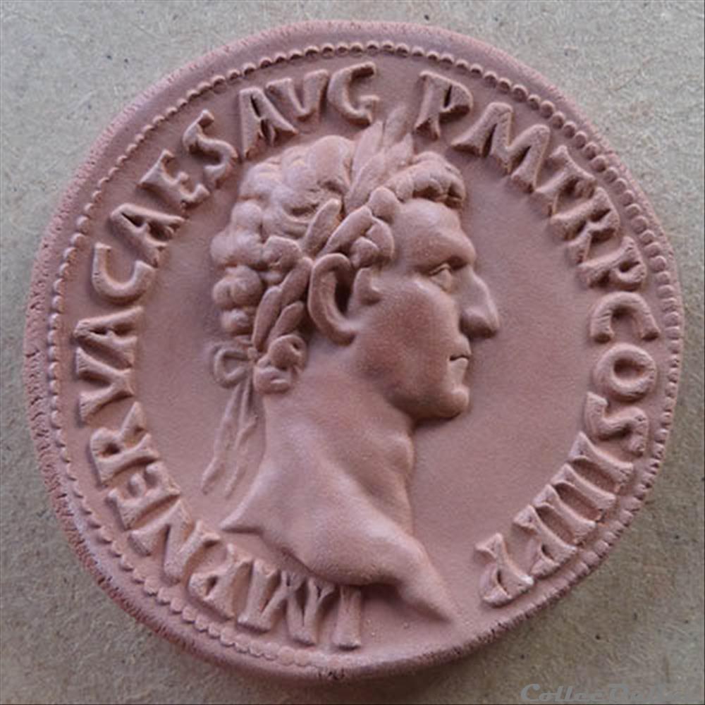 monnaie antique romaine nerva medaillon
