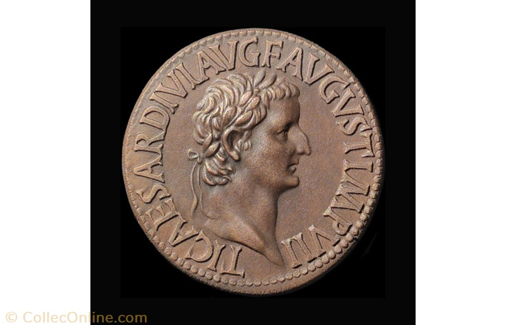monnaie antique av jc ap romaine tibere padouan