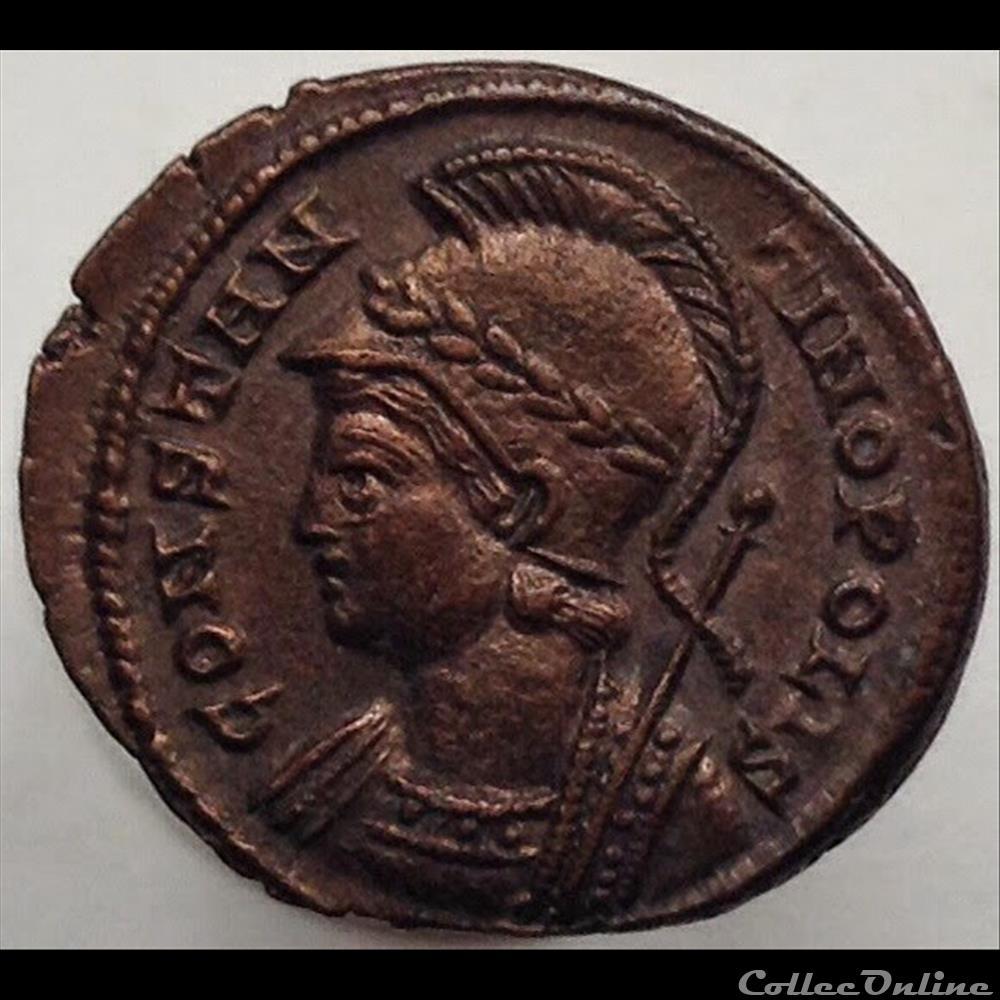 monnaie antique romaine constantinopolis nummus ric 543